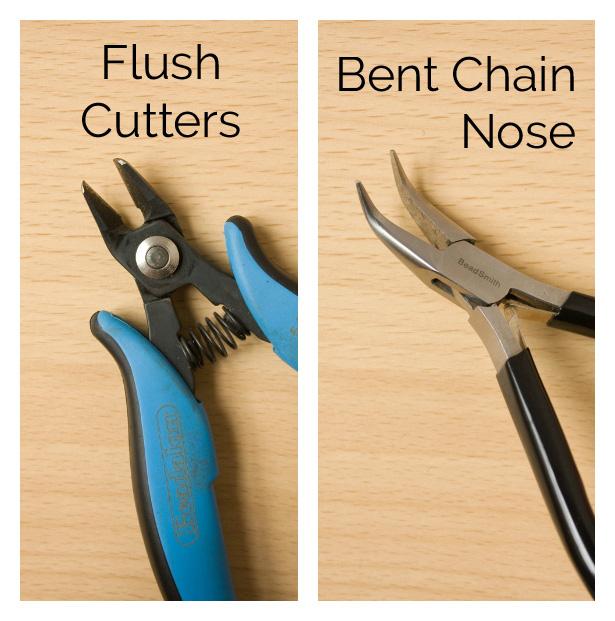 flush cutters and bent nose description