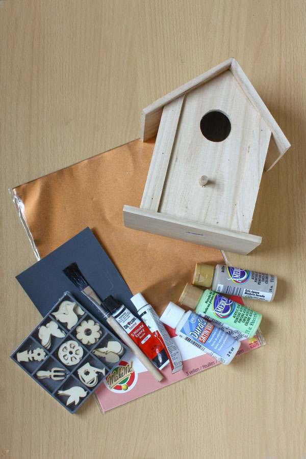 Copper and Mint DIY Birdhouse - Make and Fable