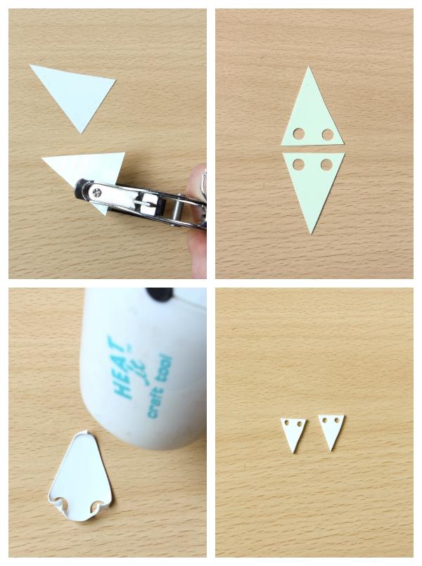 Glitter Varnish Earrings