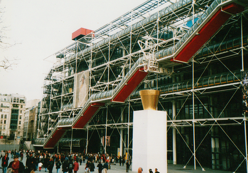 Paris 2001- Pompidou Centre