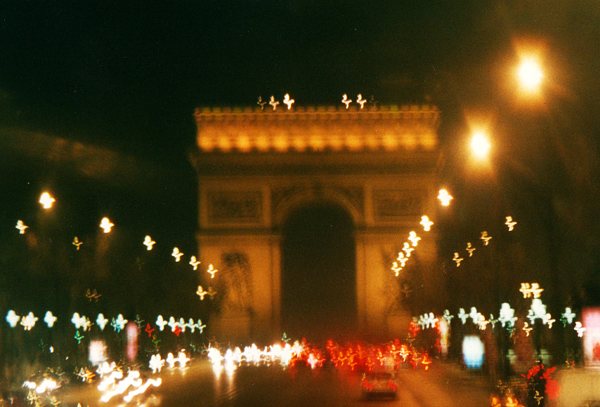 Paris 2001- Champs Elysees at Night