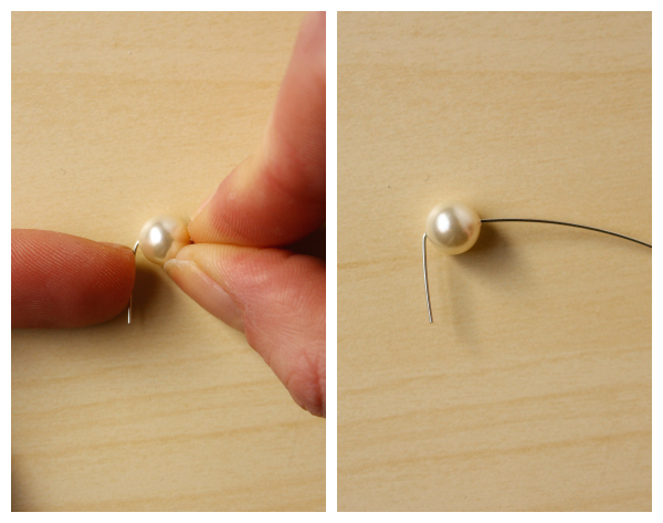 Simple DIY Pearl Stud Earrings-1