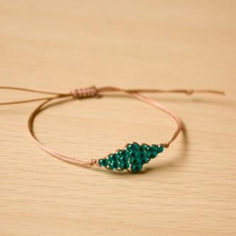 Beaded Diamond Bracelet