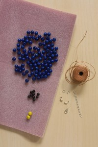 Beaded Statement colalr Necklace DIY Tutorial