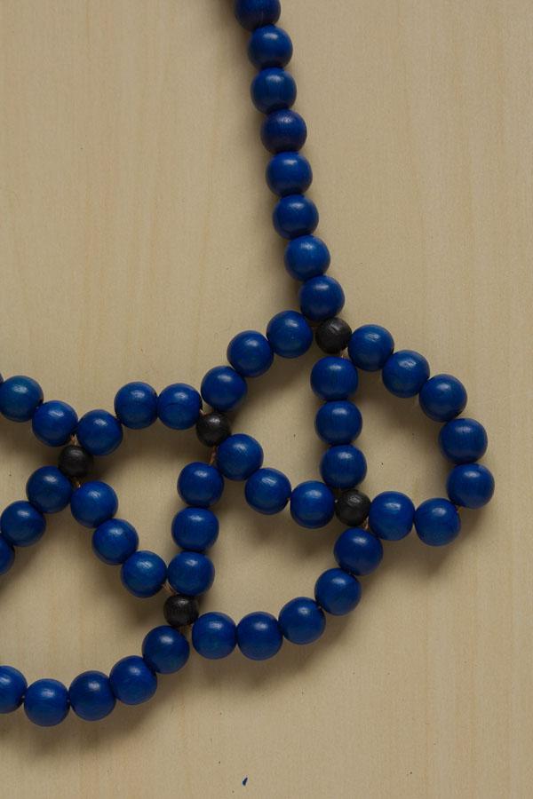 Beaded Statement Collar Necklace DIY Tutorial