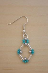 Bugle Bead Earrings DIY