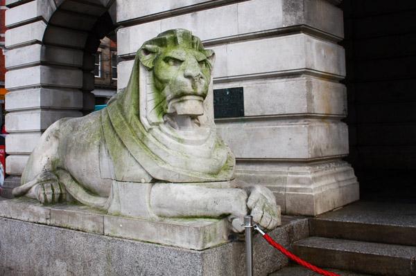Nottingham City Guide - Left Lion