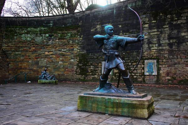 Nottingham City Guide - Robin Hood