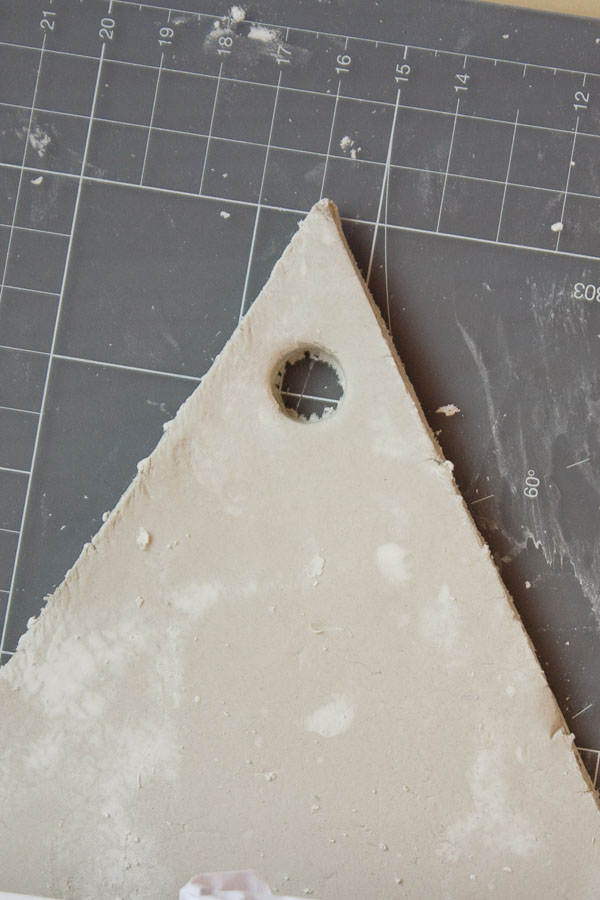 Air Dry Clay Wall Planter DIY