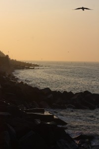 Visiting North Norfolk - Sheringham Beach