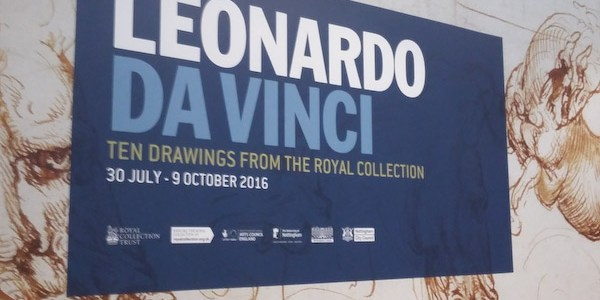 For the love of Leo – Ten Drawings from Leonardo da Vinci Exhibition