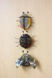 Textile Fabric Bug Brooch DIY Tutorial