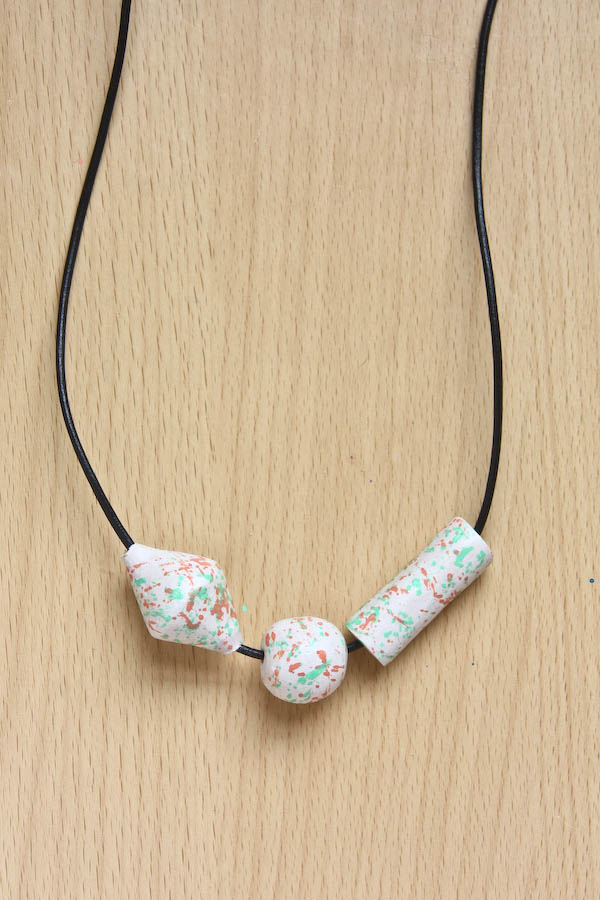 a howlite green air necklaces weaving knitting nec buy and beads necklace of livemaster item handmade