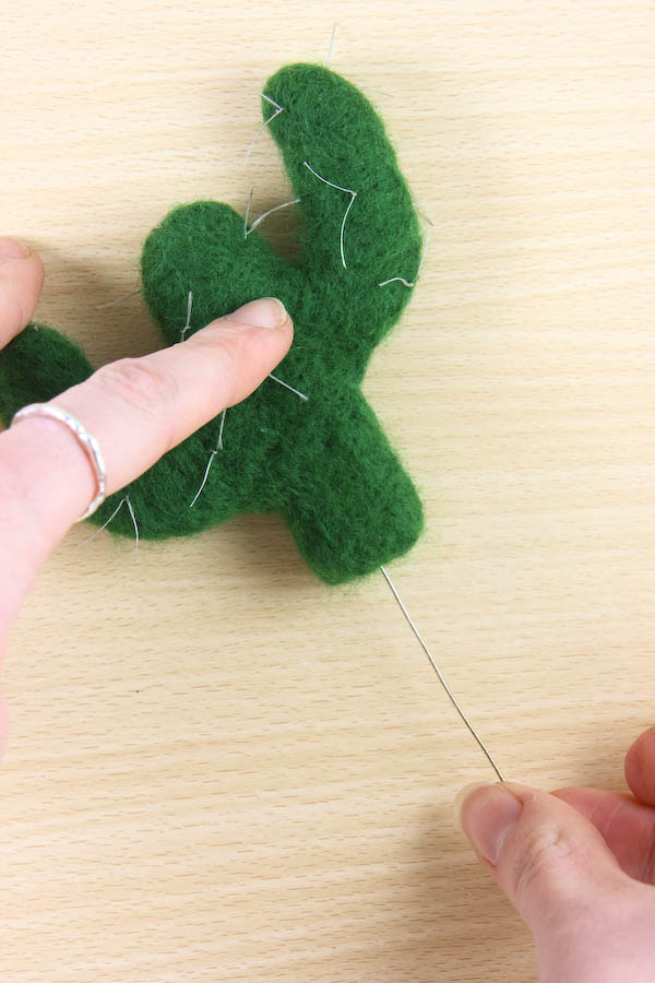 Needle Felt Cactus DIY