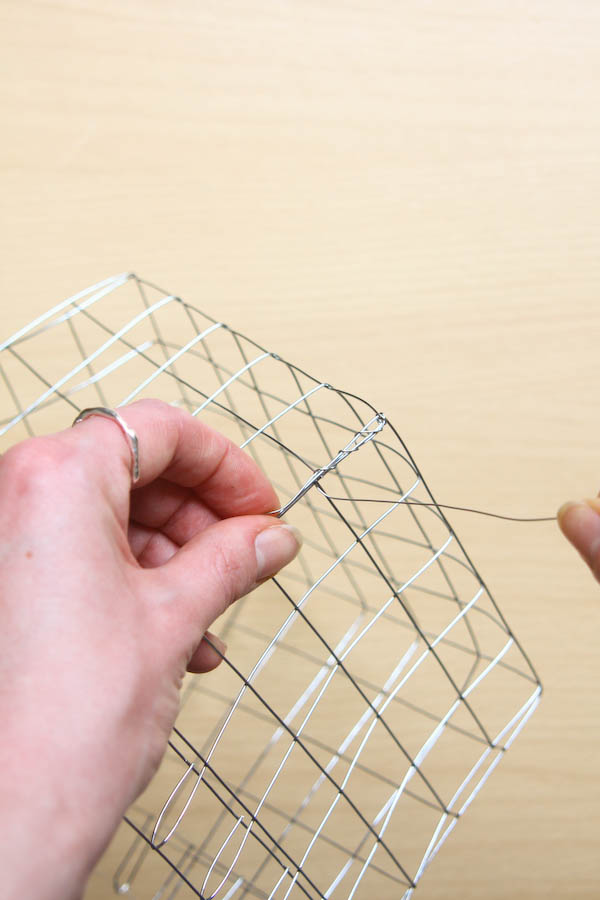 Wire Basket DIY Tutorial