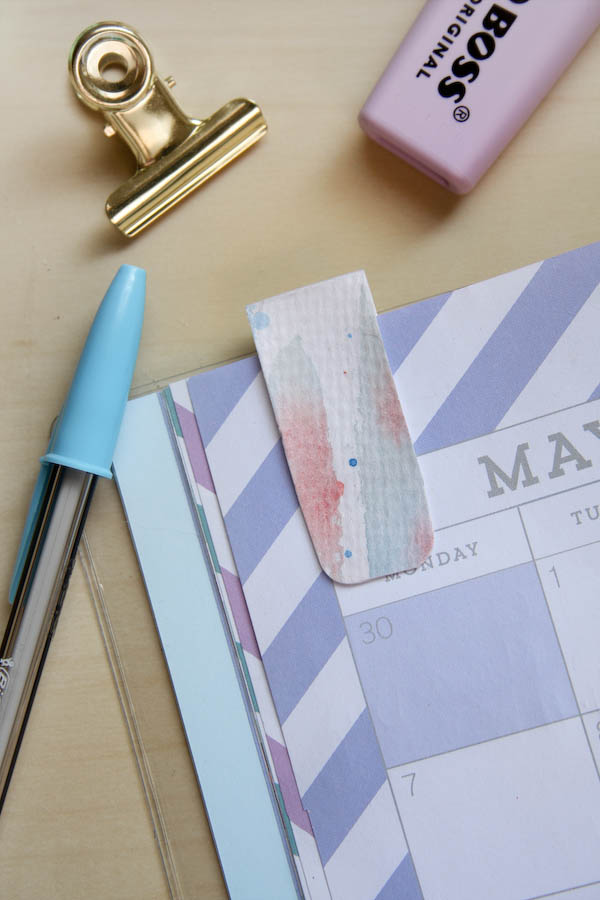 Painted Magnetic Planner Marker DIY by Make and Fable