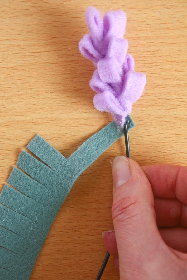 felt lavender flower 21 of 32