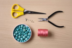Statement Summer Necklace DIY from Make and Fable