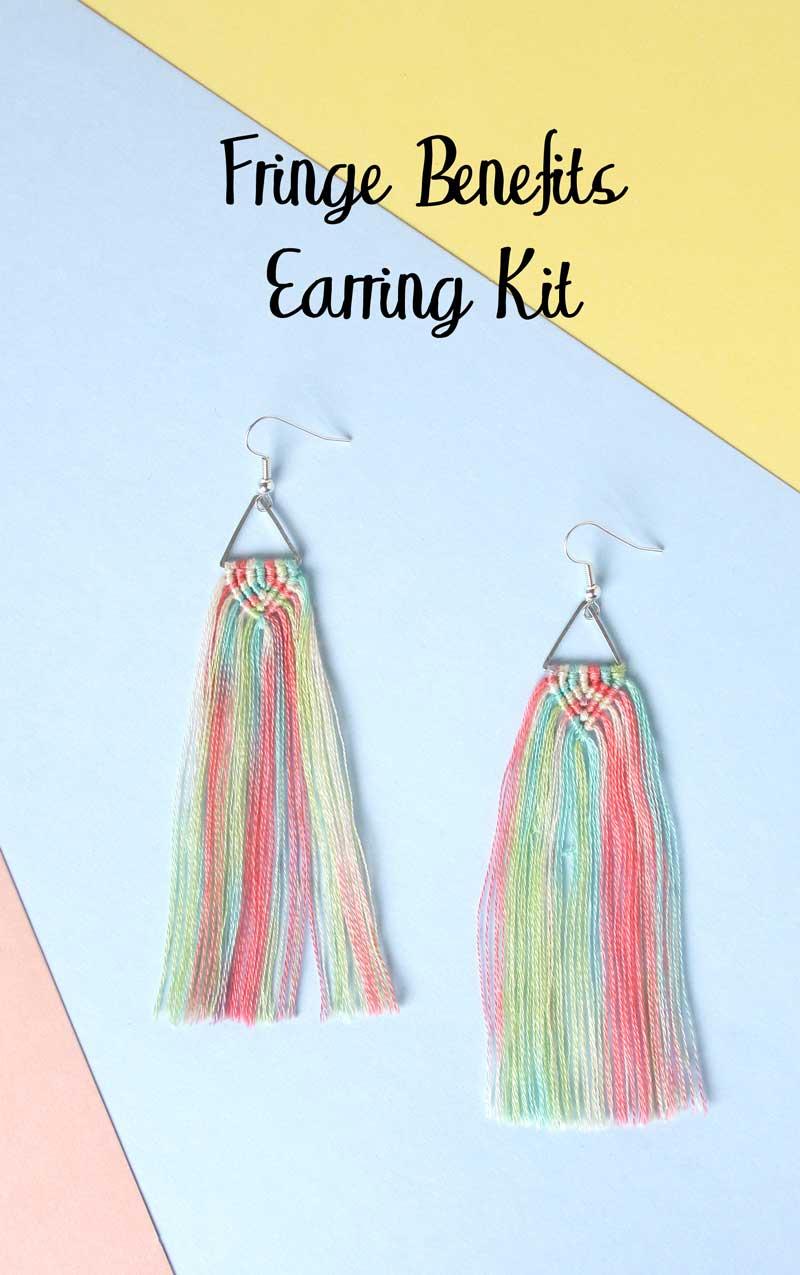 Fringe Benefits Earrings Kit