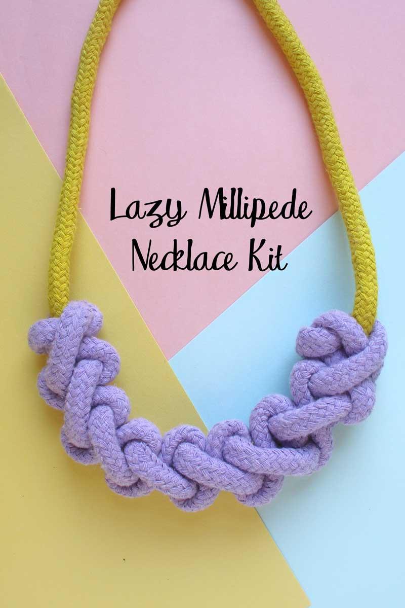 Lazy Millipede Necklace Kit