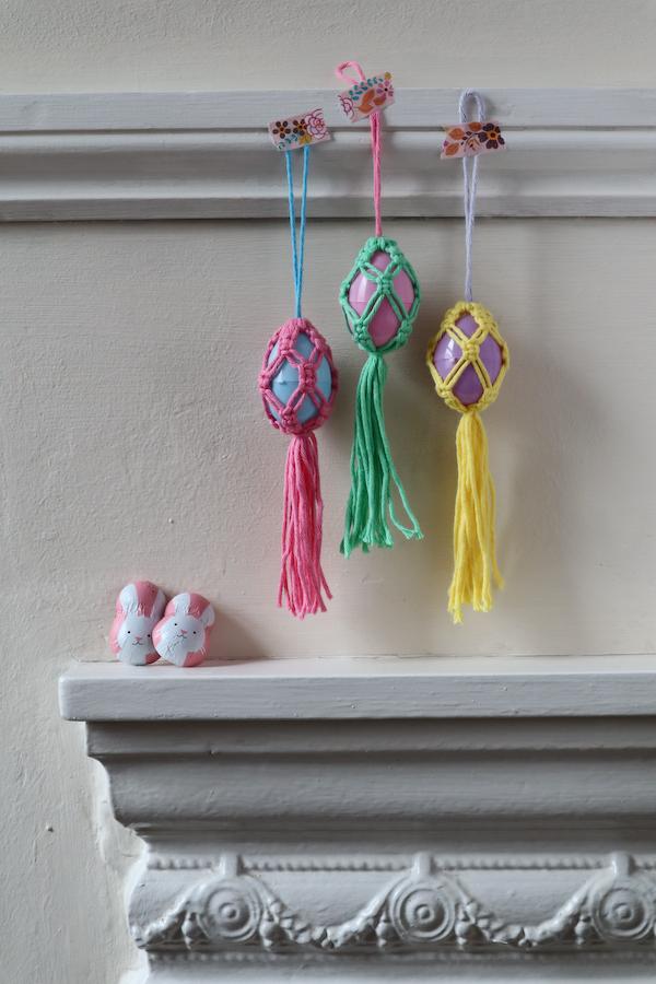 Macrame Easter Decoration 43