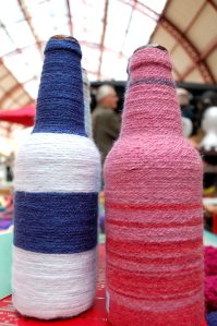 Knit WISH at the Make & Mend Market in the Grainger Market 2015