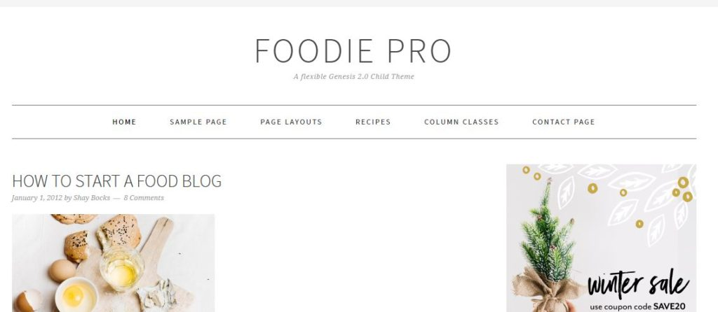 foodie-studiopress