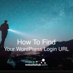 Come trovare il tuo Login WordPress