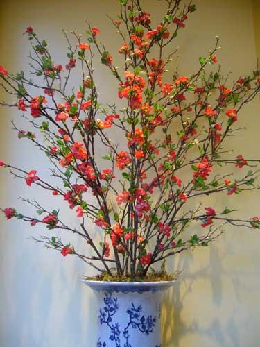Contemporary Silk Floral Artificial Flower Arrangements