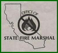 California State Certified Flame Retardant Application, California State Fire Marshall