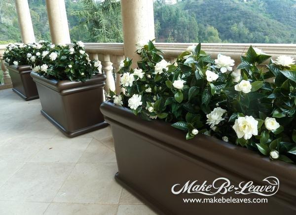 Uv stabilized silk plants flowers and trees make be leaves uv silk gardenia plant uv flowering plants mightylinksfo