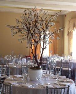 4 ft White Cherry Blossom Tree1