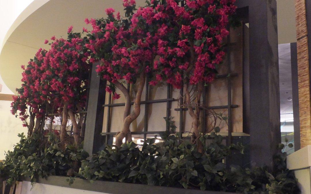 HAWAIIAN GARDENS Casino – Tropical artificial plants