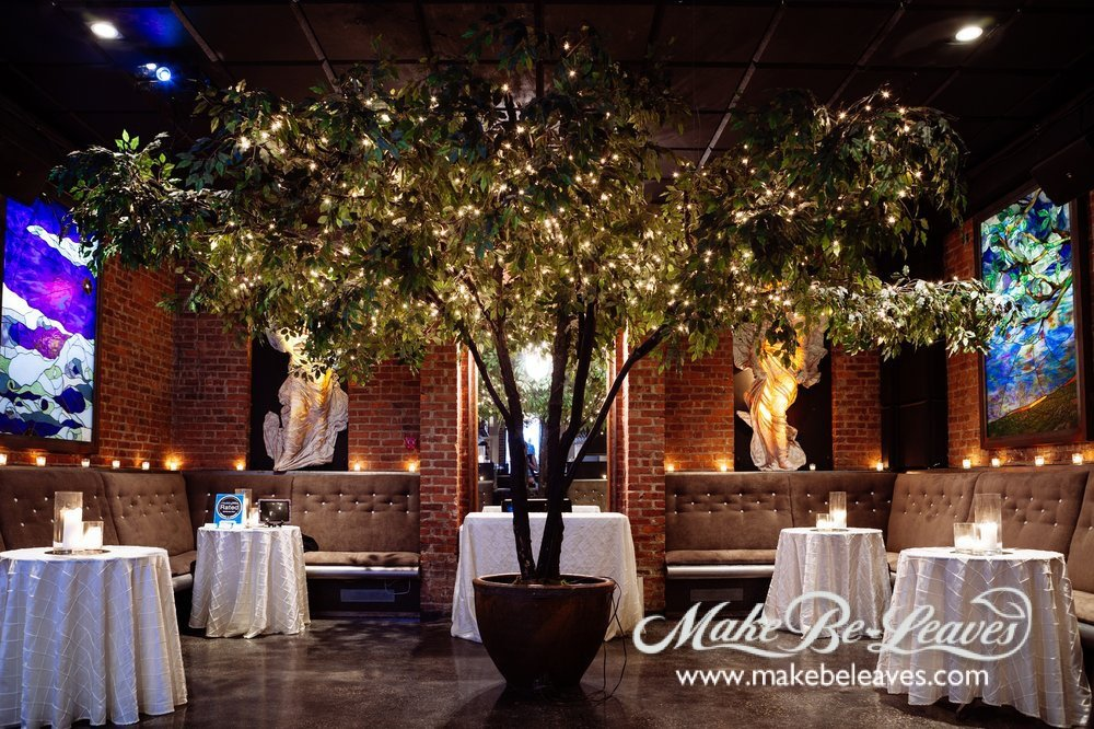 Bring exciting and magical faux trees into your nightclub space!