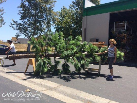 make be leaves custom artificial trees