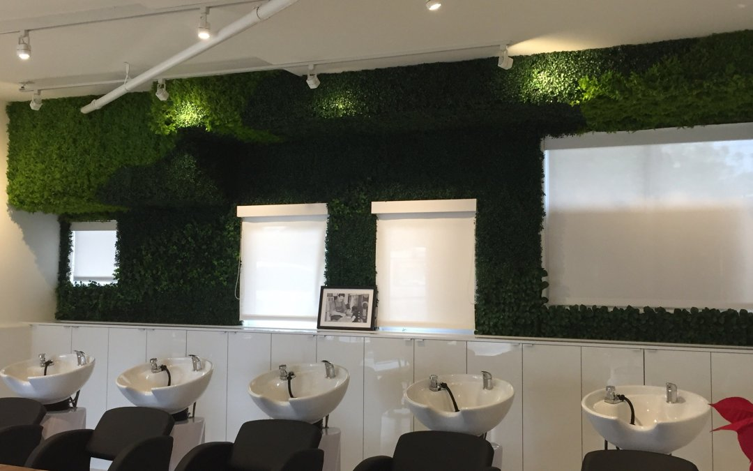 Designer faux plants & trees, Madison Salon testimonial