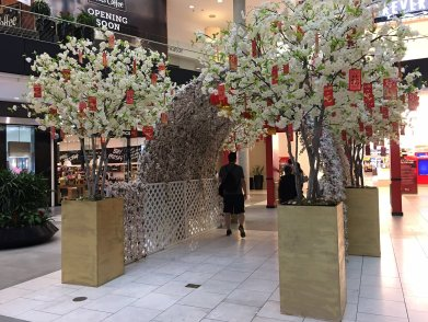 Make Be-leaves Artificial Cherry Trees for Chinese New Year 2017