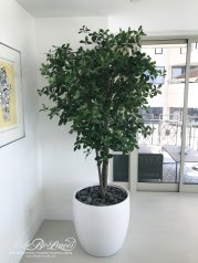 artificial potted olive tree