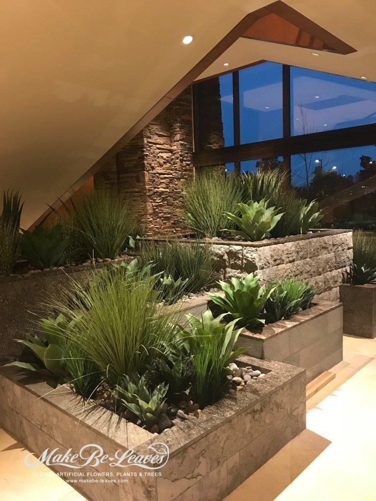artificial plants plantscape