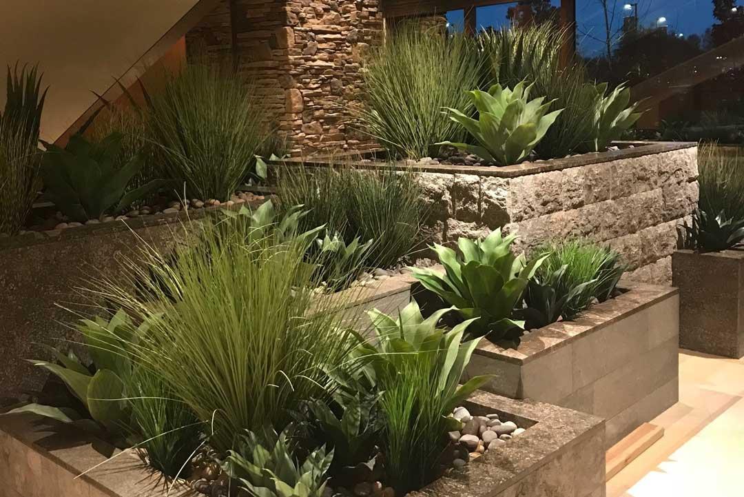 Various Succulent Stem Realistic Flower Plant Grass Landscape Garden Yard Decor