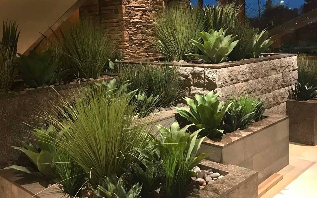 artificial succulents grasses