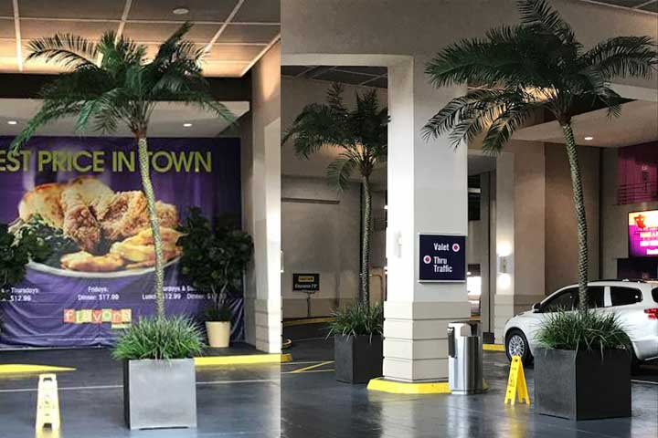 Harrah's Casino & Resort, Biloxi – Artificial Trees & Plants