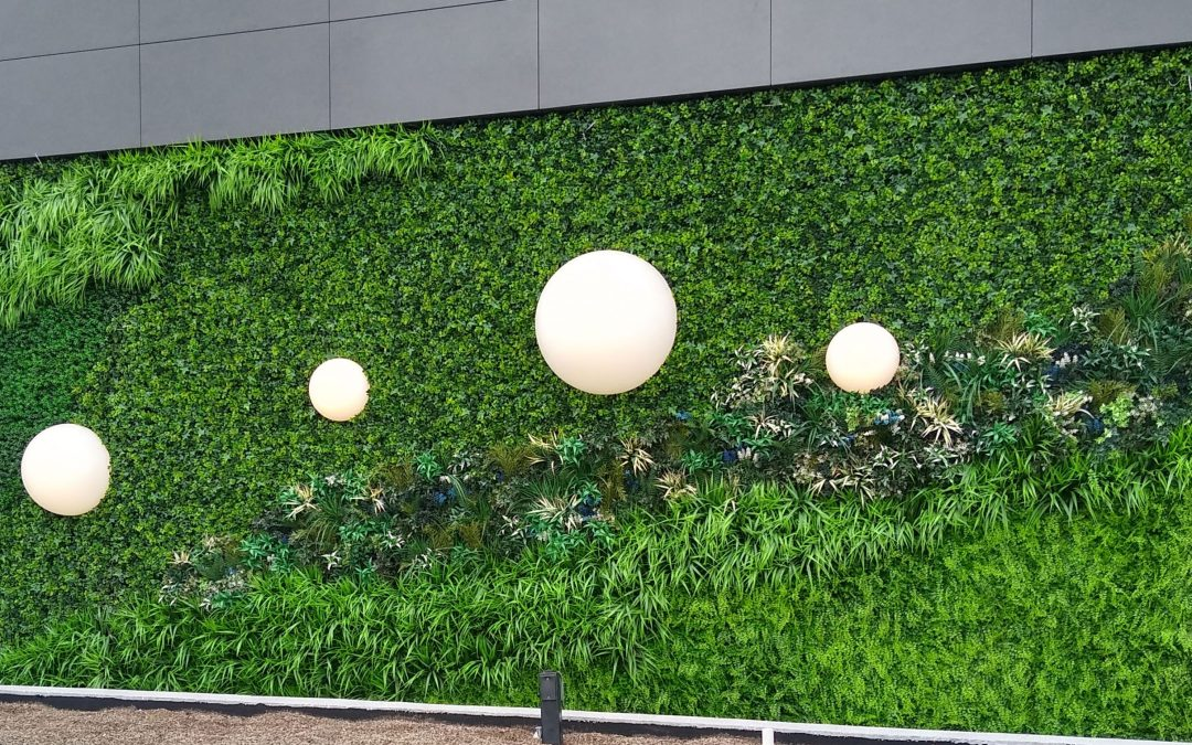 Artificial Green Wall, from Designer Inspiration to Installation!