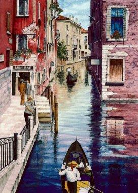 Ameche Canal scene Venice Minibar