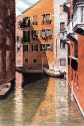 Ameche Canal scene Venice Orange