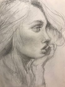portrait drawing by Susie Ameche #12