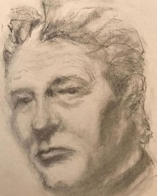 portrait drawing by Susie Ameche #02