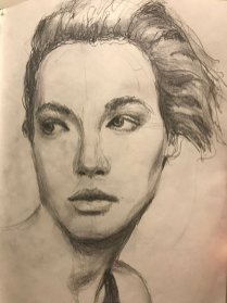 portrait drawing by Susie Ameche #03