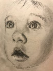 portrait drawing by Susie Ameche #07
