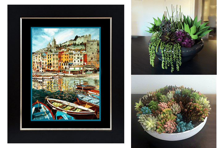 Portovenere prints & plants package